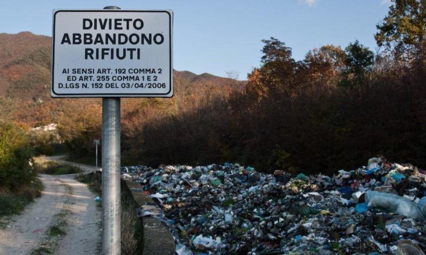 divieto rifiuti