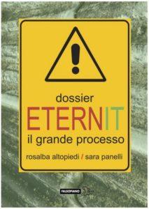 La copertina del libro inchiesta sul caso Eternit e Stephan Schmidheiny