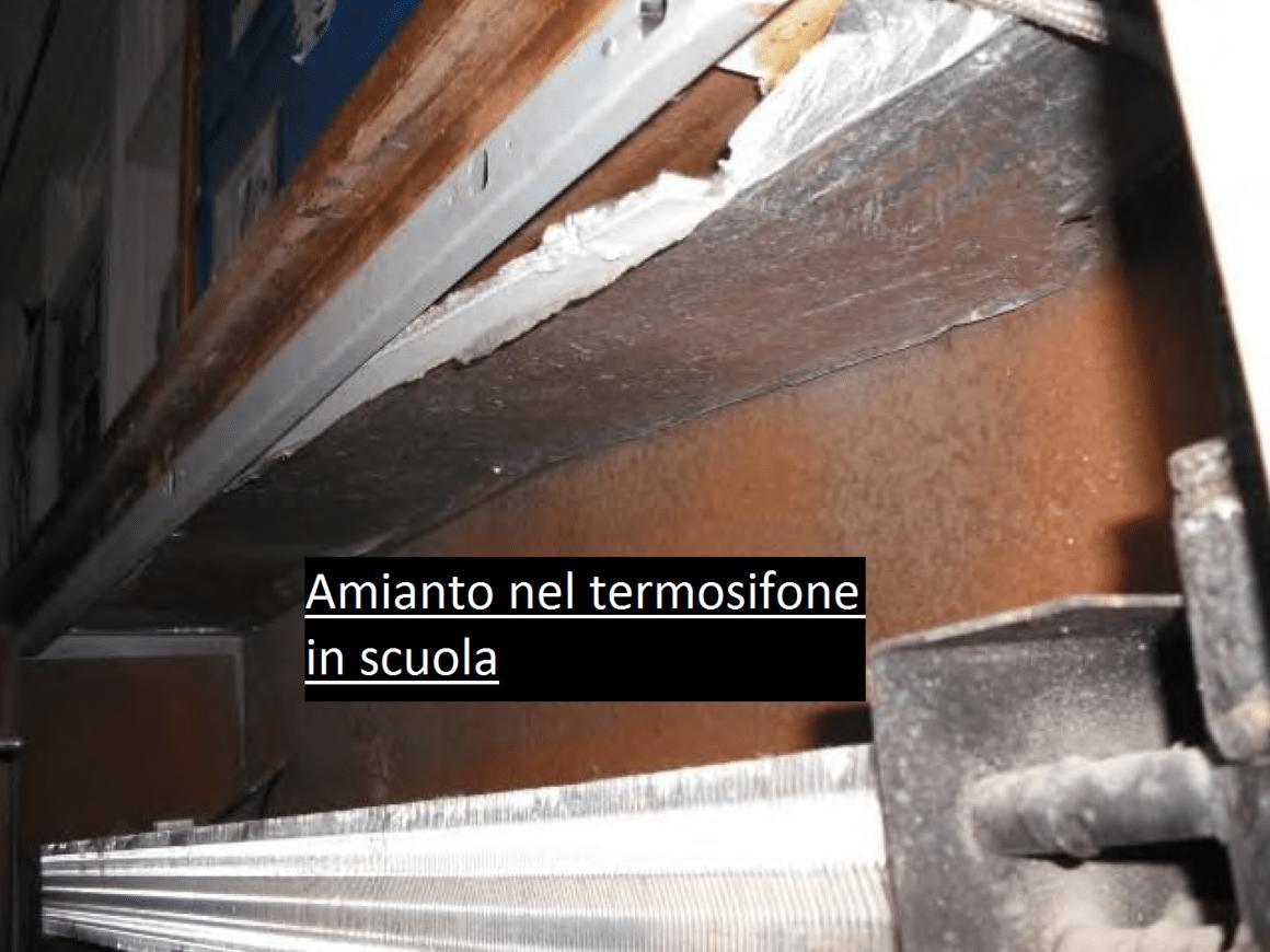 amianto scuole Regione Lazio