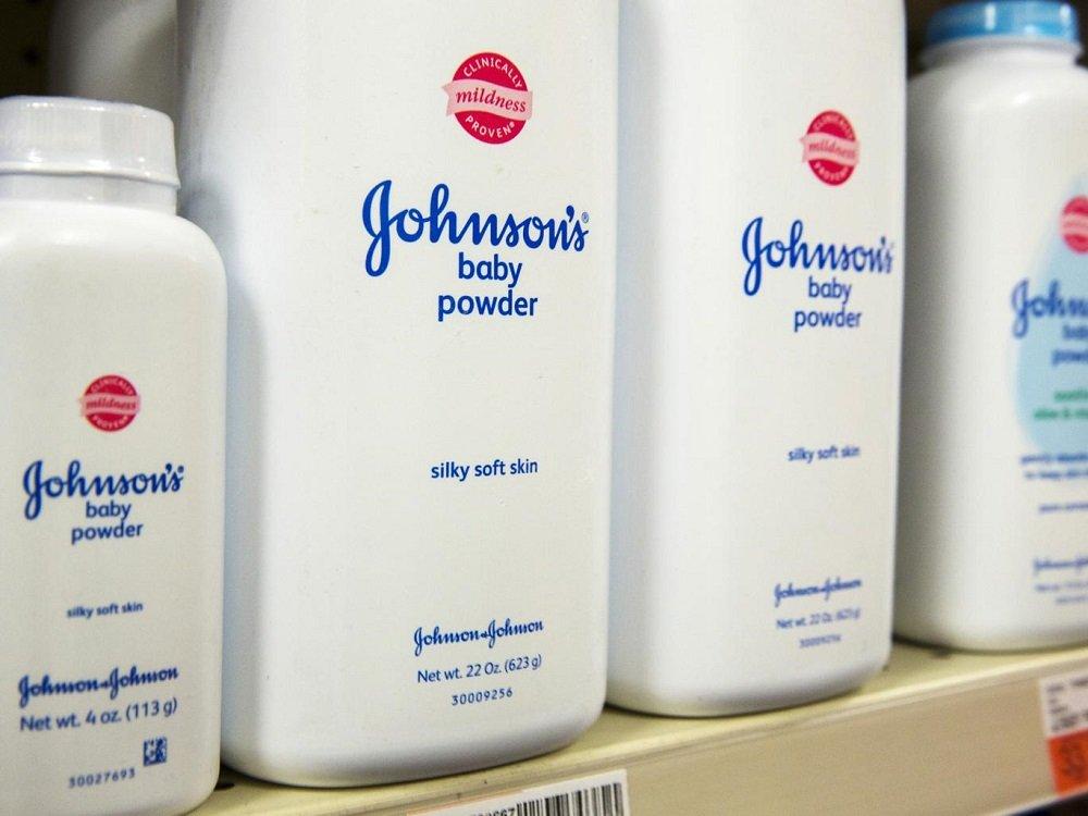 talco amianto Johnson & Johnson