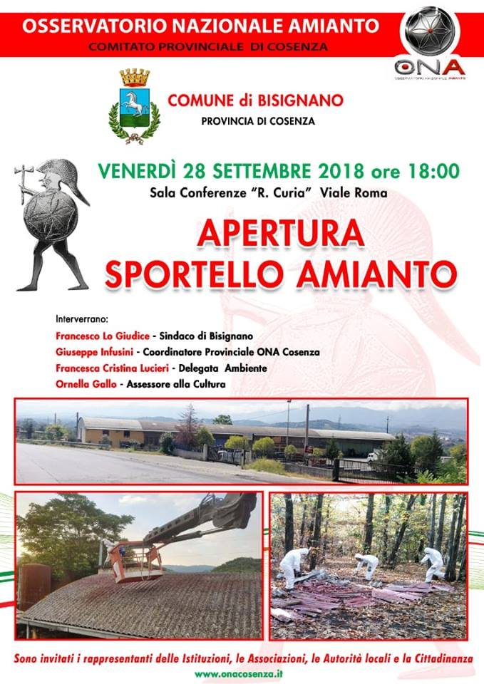 Sportello Amianto ONA Bisignano