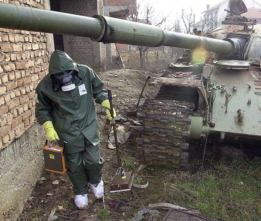 Vittima dell'uranio