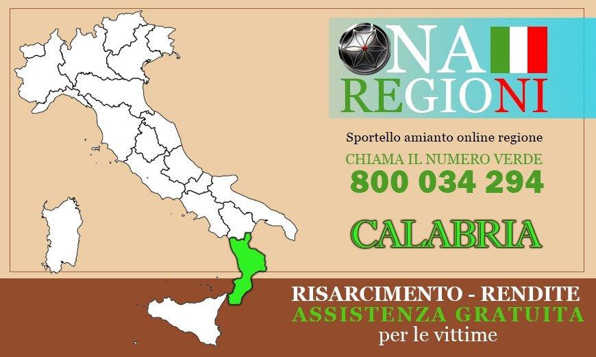 Osservatorio Nazionale Amianto Calabria