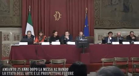 Osservatorio Nazionale Amianto Lazio, conferenza