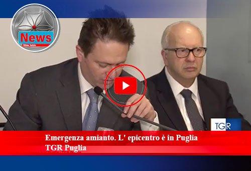 Emergenza-amianto L'epicentro è in Puglia TGR-Puglia