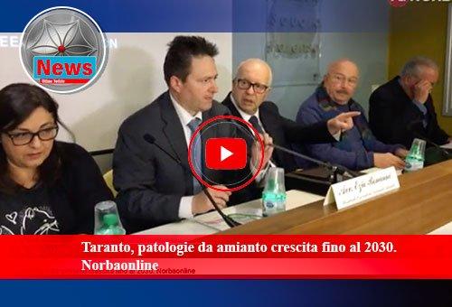 Taranto, patologie da amianto crescita fino al 2030. Norbaonline