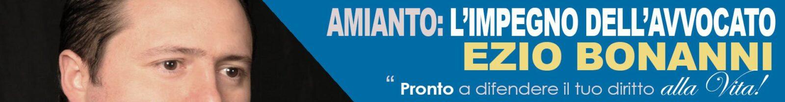 Ezio Bonanni avvocato contro l'amianto